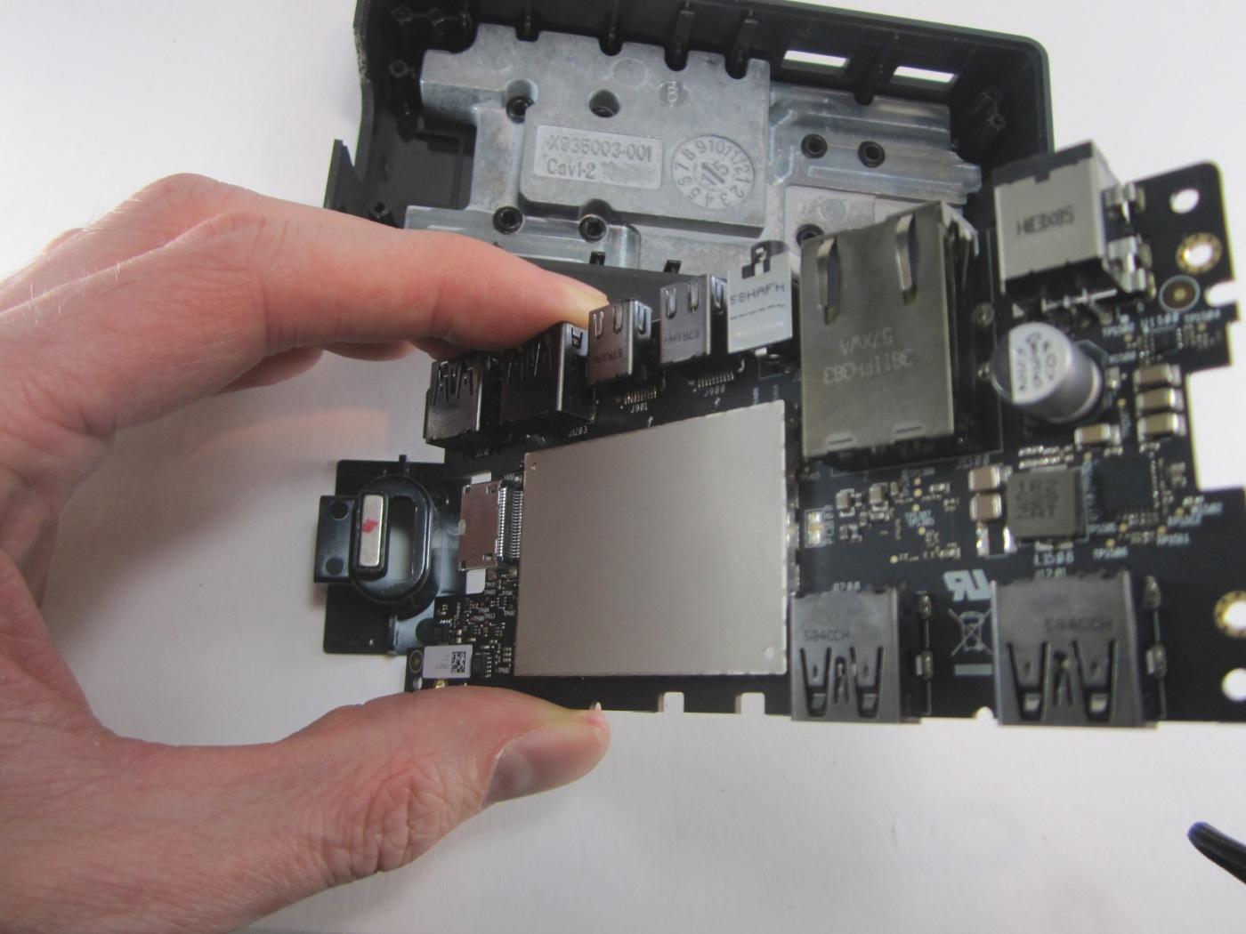 Surface Dock teardown (brick-shaped dock for SP3/SP4/SurfaceBook ...