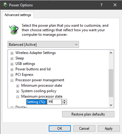 Audio / Music Production tweaks for Surface – disabling